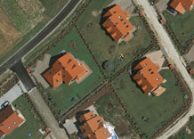 Aerial photography: Housing estate - RGB