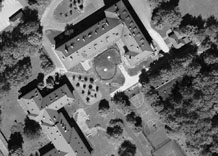 Aerial photography: Experimental institute of SGGW in Warsaw (Poland) - RGB