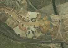 Aerial photography: Ground dumps (Kirovohrad Oblast)