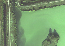 Aerial photography: Lake (Kherson oblast)