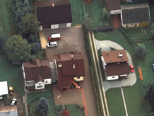 Aerial photography: Private residence