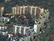 Aerial photography: Tower blocks