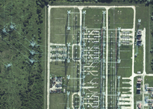 Aerial photography: Transformer station